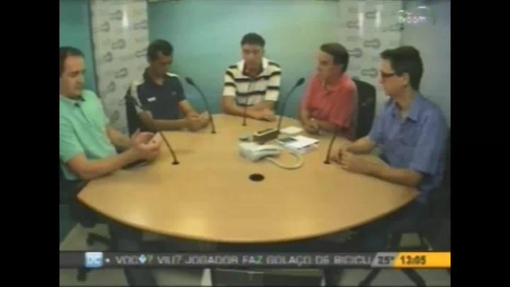 DC e CBN/Diário entrevistam o árbitro Paulo Henrique Bezerra e o auxiliar Kleber Lucio Gil