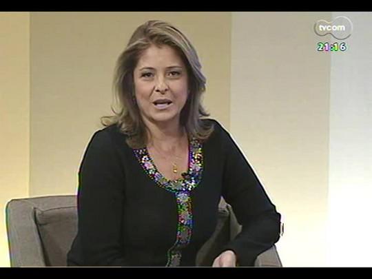 TVCOM Tudo Mais - Luís Augusto Fischer fala com a viúva de Jorge Luis Borges