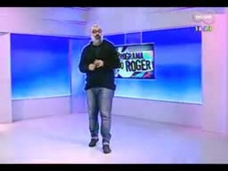 "Programa do Roger - Eddie Vedder, do Pearl Jam, toca ""Imagine"" - Bloco 4 - 21/07/2014"