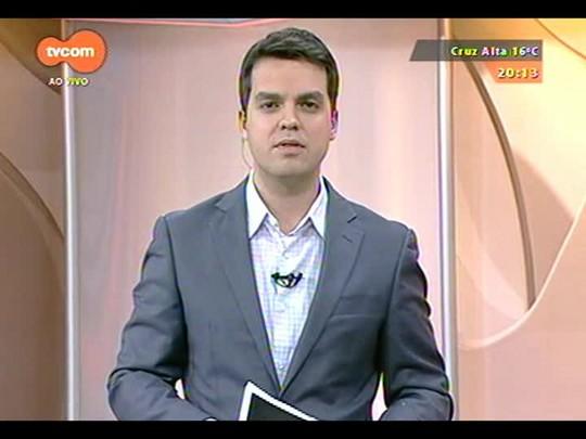 TVCOM 20 Horas - Divulgada a sexta pesquisa Datafolha de intenção de voto dos gaúchos - Bloco 2 - 02/10/2014