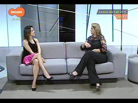 TVCOM Tudo Mais - \'Rede Social\': Fernanda Pandolfi fala sobre a Miss Brasil e a expansão do Bar Valen