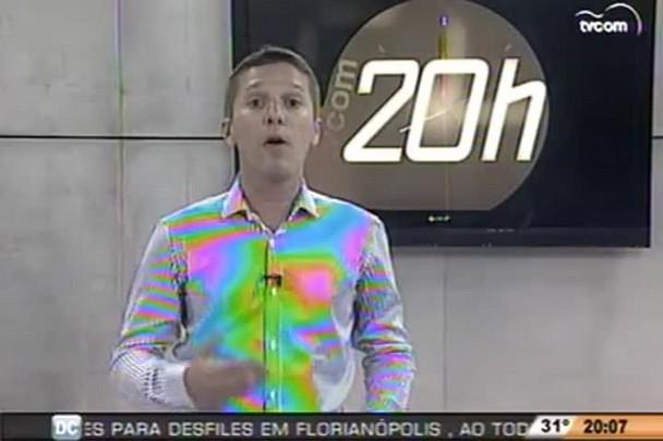 TVCOM 20h - Confira comparação de aumento de tarifas entre cidades catarinenses - 14.1.15