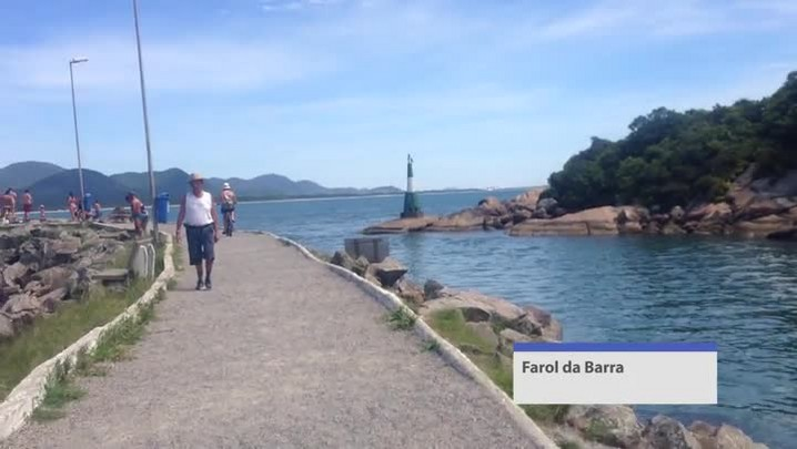 Pedal pela Barra da Lagoa