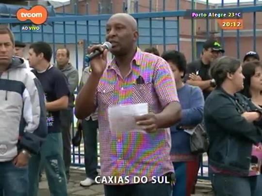 TVCOM 20 Horas - Paralisação de servidores públicos atingiu diversas regiões do estado - 15/04/2015