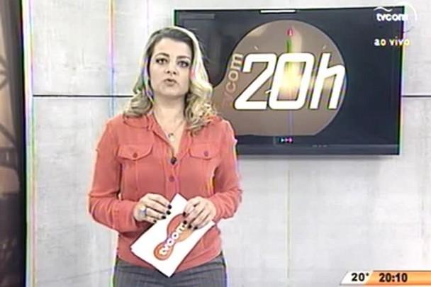 TVCOM 20 Horas - PF trabalha no caso de compra de votos, em Presidente Nereu - 25.06.15