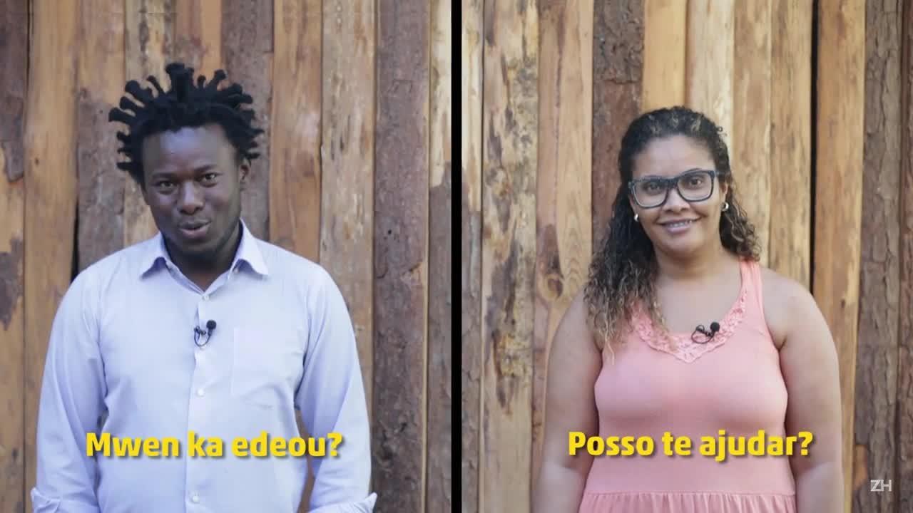 Funcionários de postos de saúde aprendem crioulo