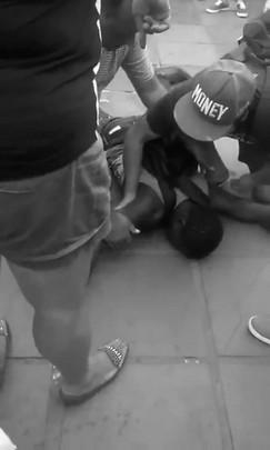 Vendedor ambulante desmaia no Centro de Santa Maria