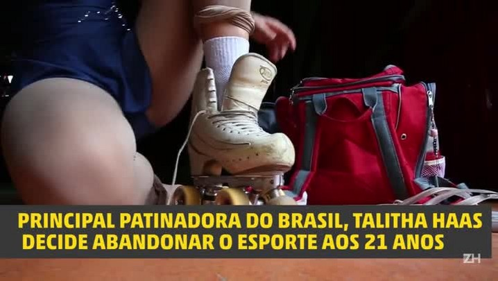 Sem incentivo, principal patinadora do Brasil abandona os patins