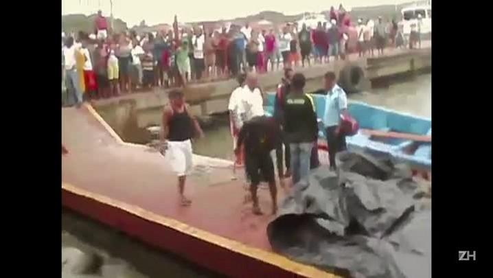 Brasileira sobrevive a naufrágio que matou 13 na Nicarágua