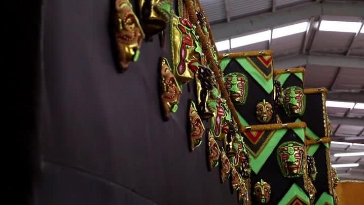 Carnaval 2016: Barracão União da Ilha da Magia