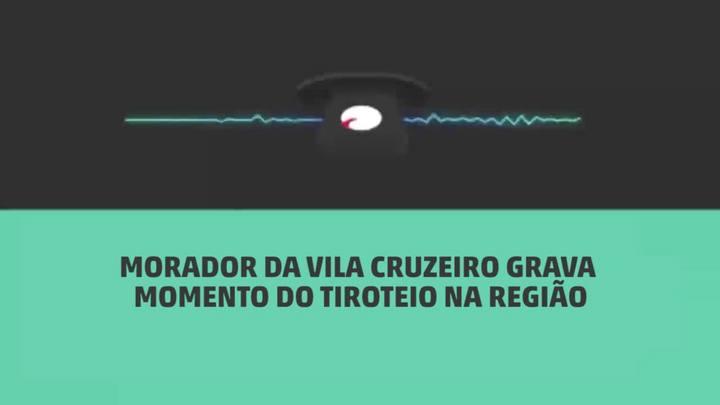 Gravação mostra o momento em que atiradores invadiram a Vila Cruzeiro