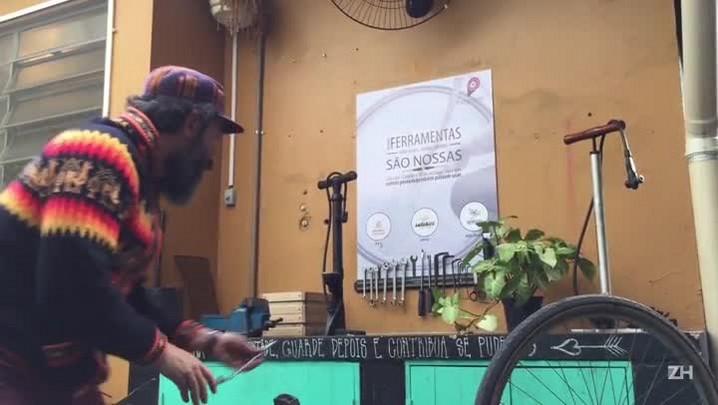 Oficinas gratuitas de bike surgem em Porto Alegre