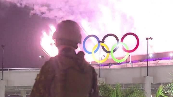 Cerimônia encanta brasileiros e estrangeiros