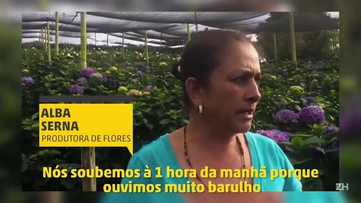 Moradora local conta como recebeu a notícia da tragédia