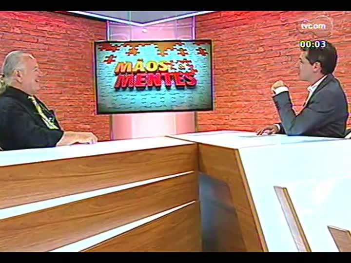 Mãos e Mentes - Maestro da Orquestra Jovem do RS, Telmo Jaconi - Bloco 4 - 18/01/2013