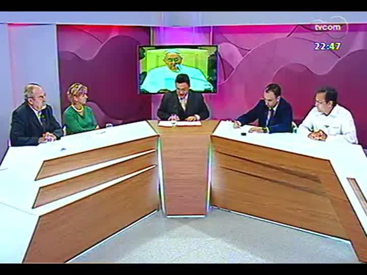 Conversas Cruzadas - Programa avalia as primeiras ações do Papa Francisco à frente da Igreja Católica - Bloco 3 - 29/03/2013