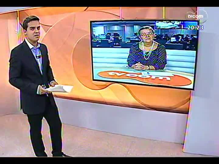 TVCOM 20 Horas - Nova plataforma da Petrobras no RS - Bloco 3 - 10/04/2013