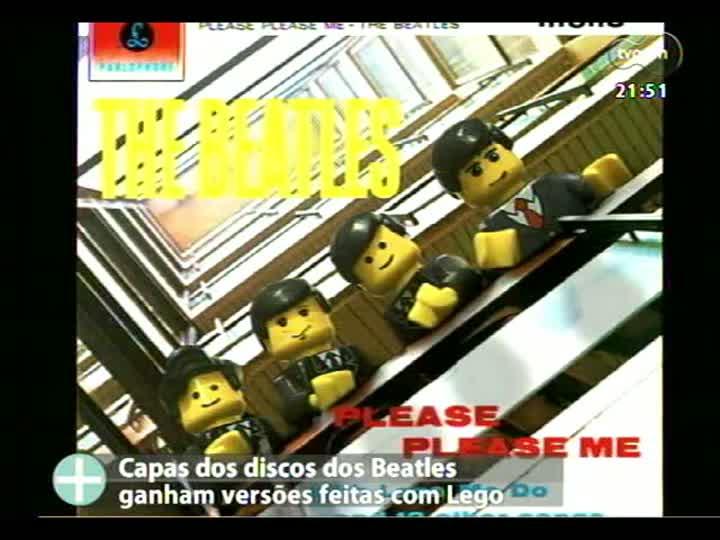TVCOM Tudo Mais - Lúcio Brancato fala sobre as versões Lego de capas dos discos dos Beatles