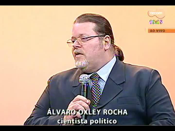 Cobertura especial das manifesta��es em Porto Alegre - Entrevista com o cientista pol�tico �lvaro Oxley Rocha - 20/06/2013