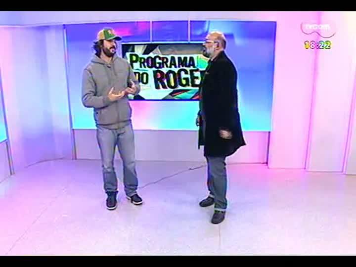 Programa do Roger - Entrevista com Gabriel O Pensador - bloco 3 - 20/06/2013