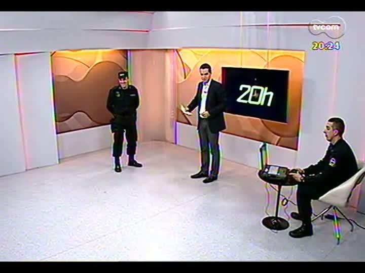 TVCOM 20 Horas - Como funciona o robô antibomba, novo aliado da polícia no RS - Bloco 3 - 09/08/2013