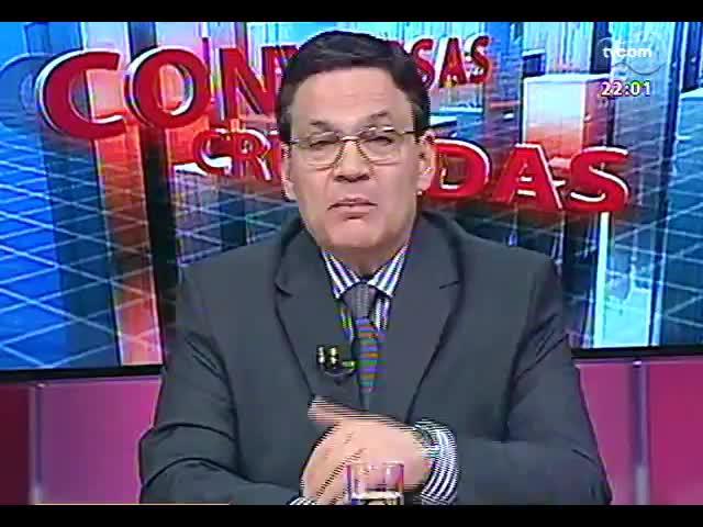 Conversas Cruzadas - Em debate, a avaliação do caos trazido pelas chuvas e alagamentos na Região Metropolitana - Bloco 1 - 24/10/2013