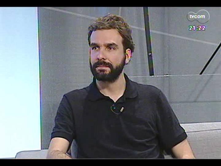 TVCOM Tudo Mais - Conversa com o cidadão global Felipe Vedana, que participou do TEDxUnisinos