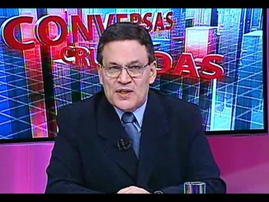 Conversas Cruzadas - A transmissão ao vivo de julgamentos em trinbunais superiores pela TV prejudica a justiça? - Bloco 1 - 03/01/2014