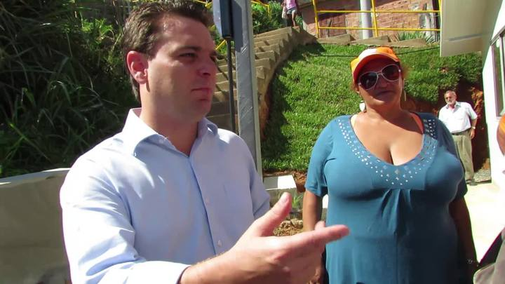 Prefeito Cesar Souza Júnior fala com beneficidos de programa social de moradia