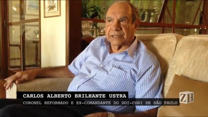 Com a Palavra: coronel Ustra, o primeiro torturador reconhecido pela Justiça