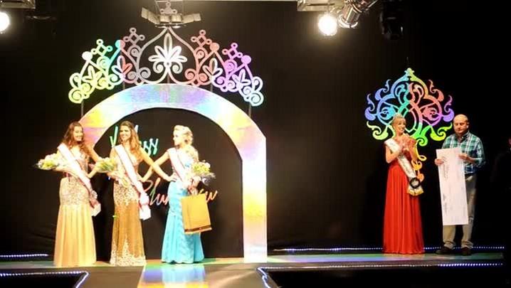 Greiciane Almeida, 21 anos, é eleita Miss Blumenau 2014