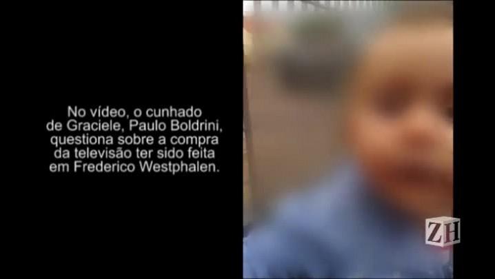 Diálogo da madrasta de Bernardo com cunhado sobre compra da TV em Frederico Westphalen