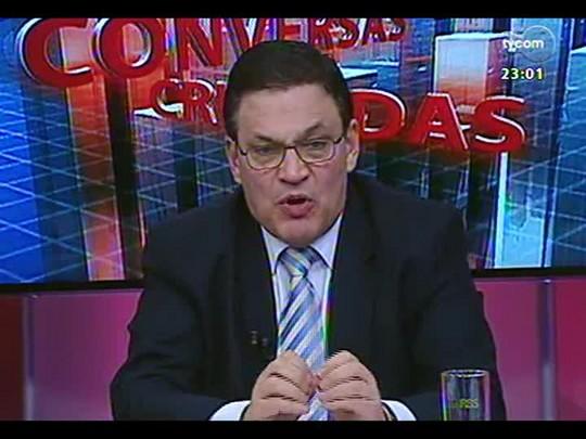 Conversas Cruzadas - Crise Argentina: A possibilidade de calote e reflexos no Mercosul - Bloco 3 - 29/07/2014
