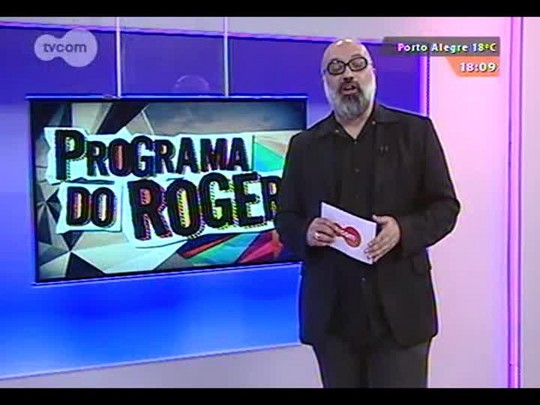 """Programa do Roger - John Folk \""""Sobre amor & café\"""" - Bloco 3 - 06/09/2014"""