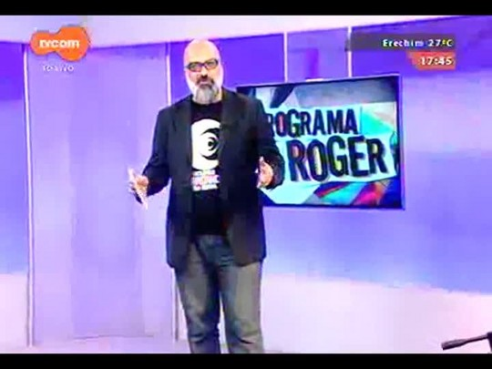 Programa do Roger - Naddo Entre os Gigantes, banda - Bloco 1 - 19/11/2014