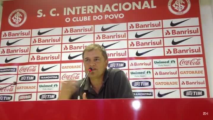 Aguirre projeta jogo do Inter com muitas opções diante da La U