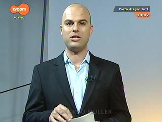 TVCOM 20 Horas - Ex-chefe de gabinete de Diógenes Basegio revela que negociou com o prefeito da capital um emprego para a primeira-dama - 09/06/2015