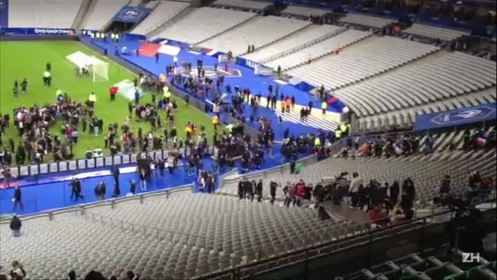 Pânico no Stade de France