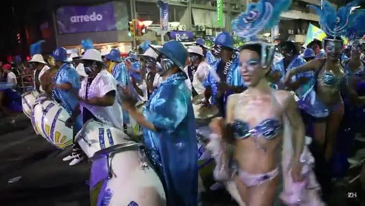 Começa carnaval de 40 dias no Uruguai