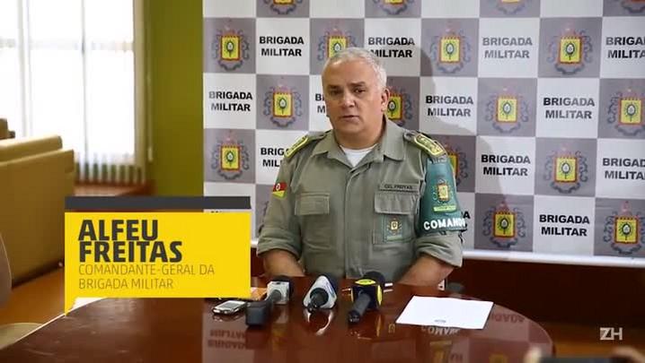 Comandante-geral da BM avalia ação de PMs em confronto com criminosos