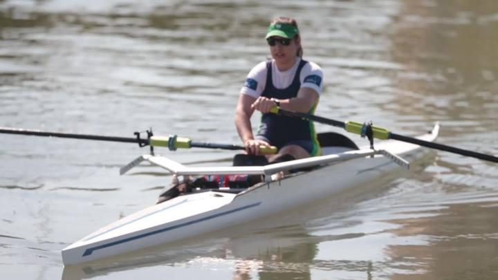 Manezinha do remo adaptado, Josiane Lima se concentra antes de tentar o ouro nas paralimpíadas do Rio