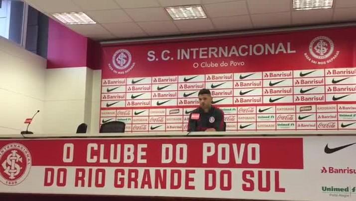 Carlos fala sobre jogos do Inter em casa