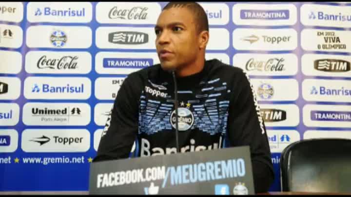 Dida fala sobre a expectativa no Grêmio