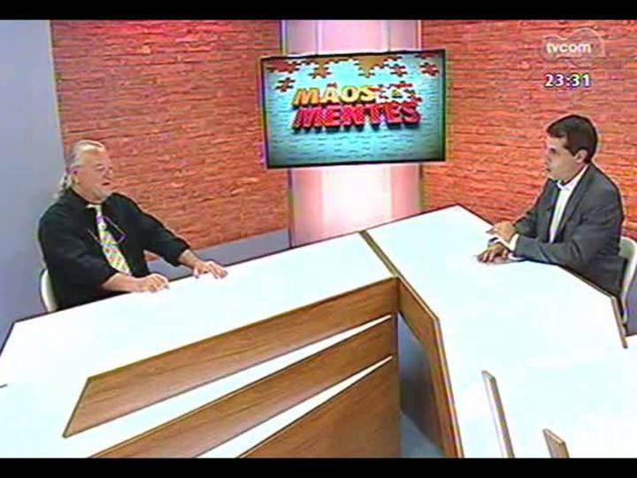 Mãos e Mentes - Maestro da Orquestra Jovem do RS, Telmo Jaconi - Bloco 1 - 18/01/2013