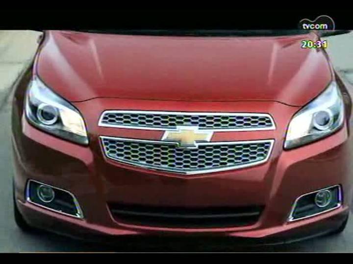 Carros e Motos - Nova geração do Chevrolet Malibu - 17/03/2013 - Bloco 1