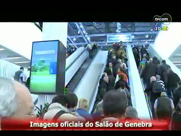Carros e Motos - Tendências e lançamentos do Salão do Automóvel de Genebra- 17/03/2013 - Bloco 3