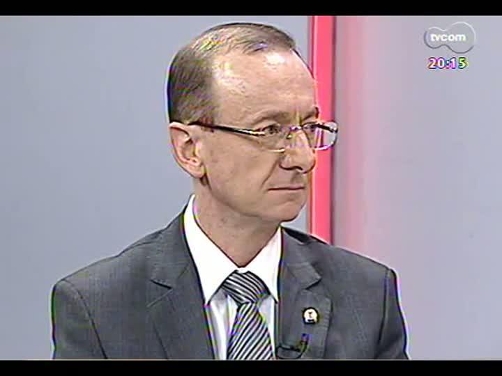 TVCOM 20 Horas - Presidente do Tribunal de Contas do Estado fala sobre a Lei de Acesso à Informação - Bloco 2 - 15/05/2013