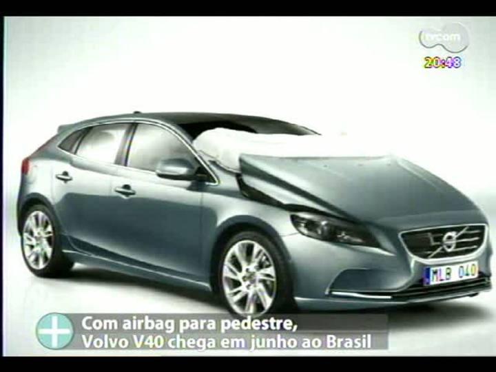 TVCOM Tudo Mais - Novidade no setor automobilístico: conheça o carro que tem airbag para pedestres