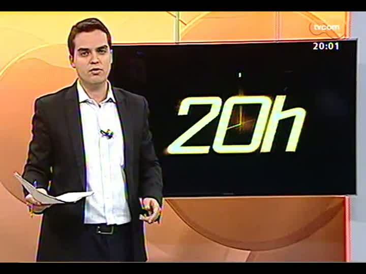 TVCOM 20 Horas - Claudio Brito comenta a decisão da Justiça de liberar envolvidos na tragédia da boate Kiss - Bloco 1 - 29/05/2013