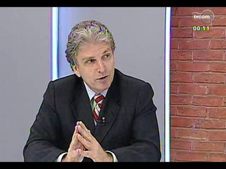 Mãos e Mentes - Chefe de Oncologia do HCPA, Gilberto Schwartsmann - Bloco 4 - 30/05/2013